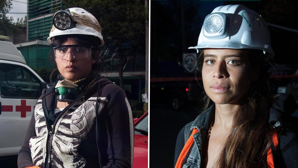 Broadly - Women Leading the Mexico City Earthquake Rescue Efforts Share Their Stories
