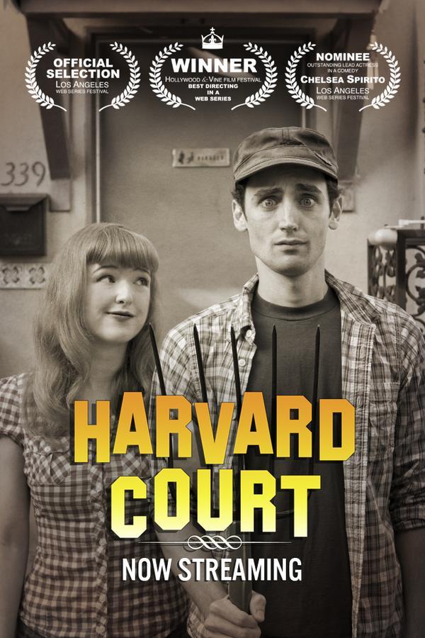 """Harvard Court"" Poster"