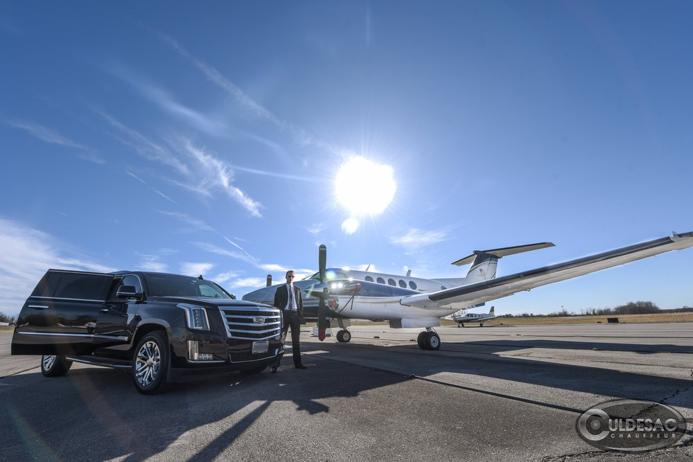 Washington DC Private Jet Transportation Cadillac Escalade
