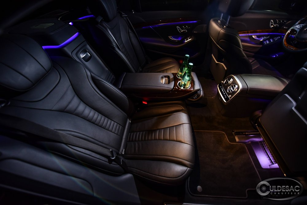Luxury Mercedes S550 Interior