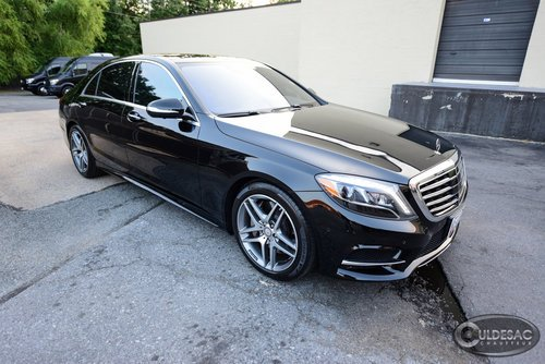 Mercedes S550 Mercedes Limo Front
