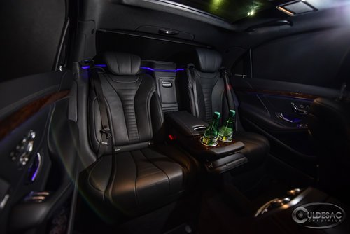 Mercedes S550 Mercedes Limo Interior Lighting