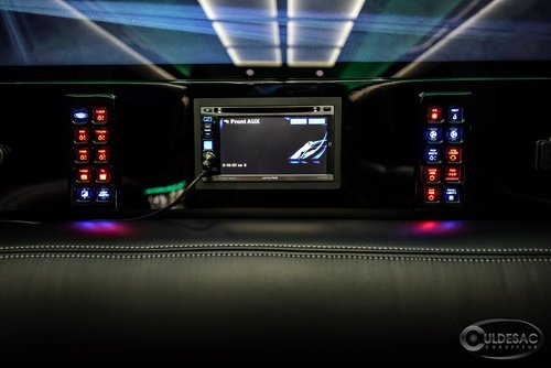 Mercedes sprinter limo light audio control panel