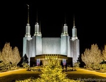 Mormon Temple Festival of Lights