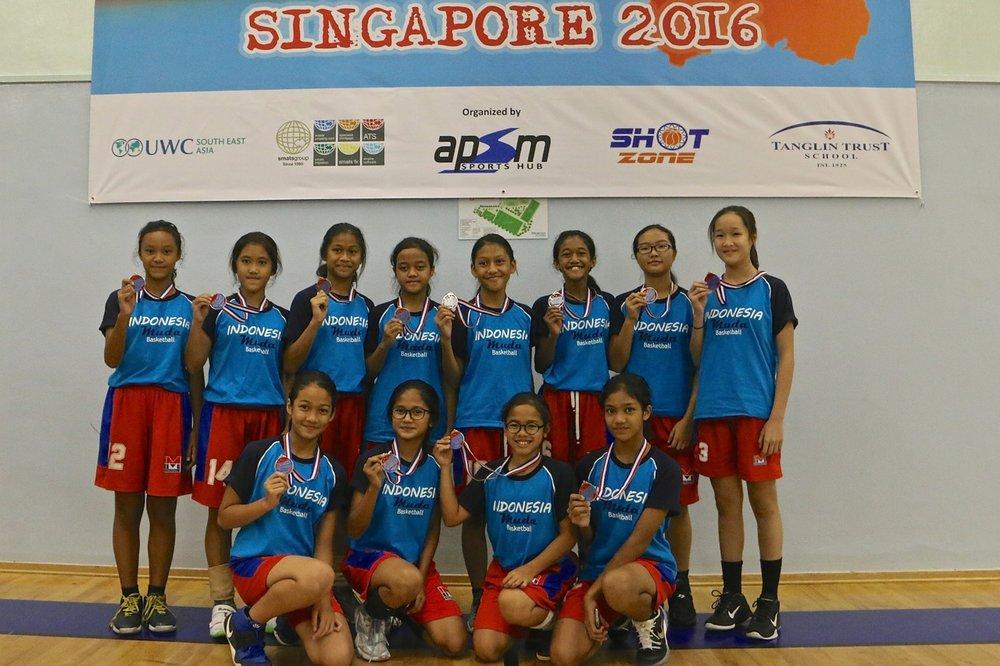 U13 Girls 2nd Place - Indonesia Muda