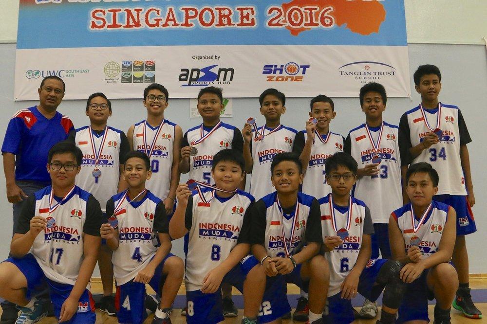 U13 Boys 2nd Place - Indonesia Muda