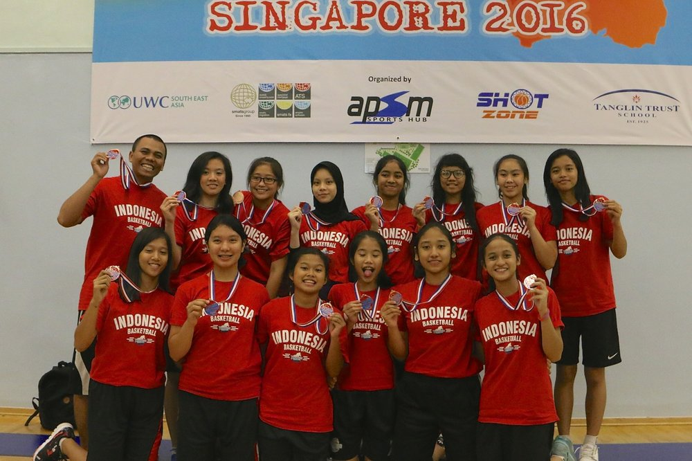 U15 Girls 3rd Place - Tanago BC Indonesia