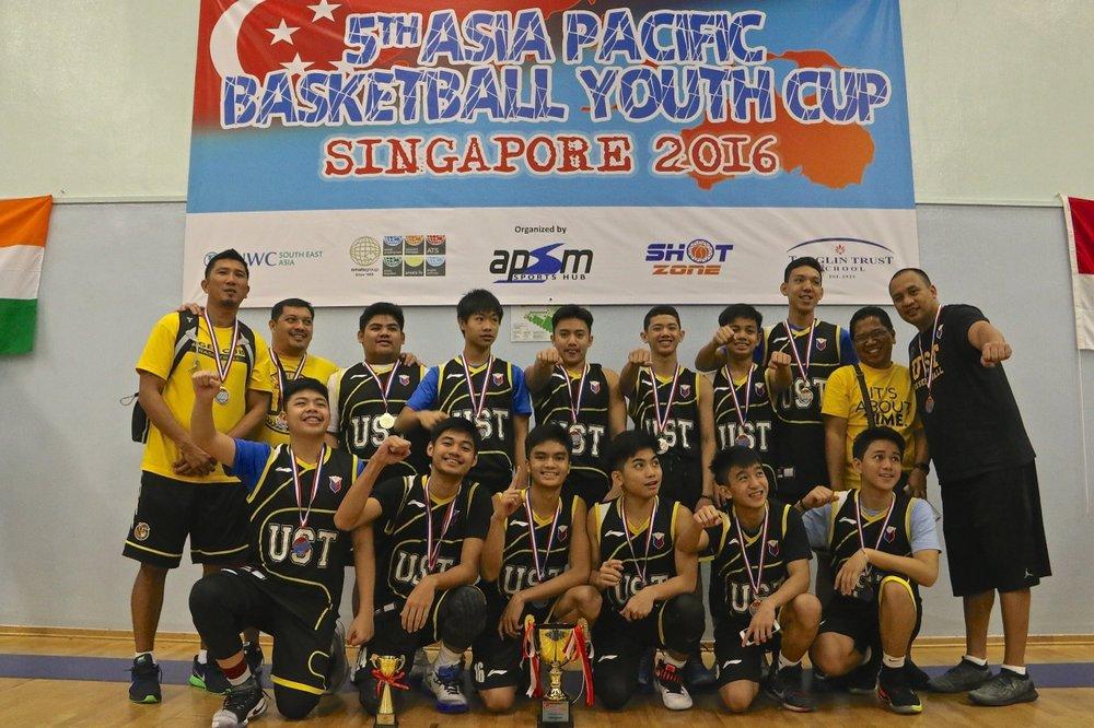 U15 Boys Champions - UST Manila