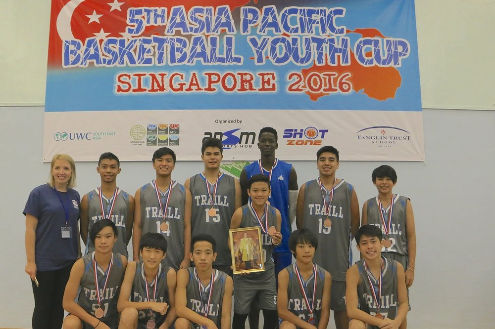 U15 Boys 3rd Place - Traill International Bangkok