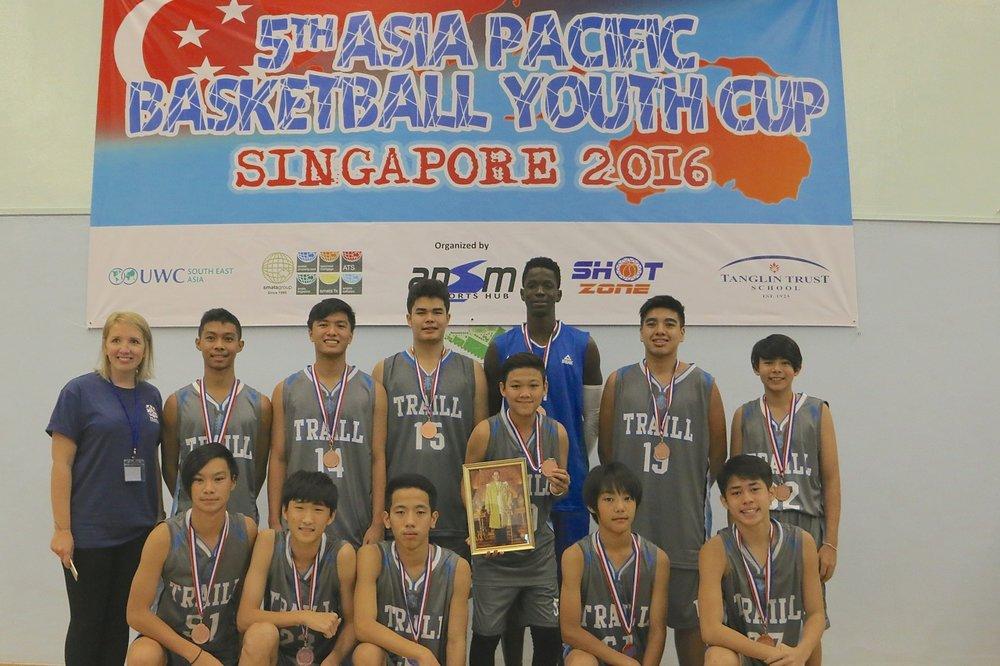 U15 Boys 3rd Place - Traill International Bangkok