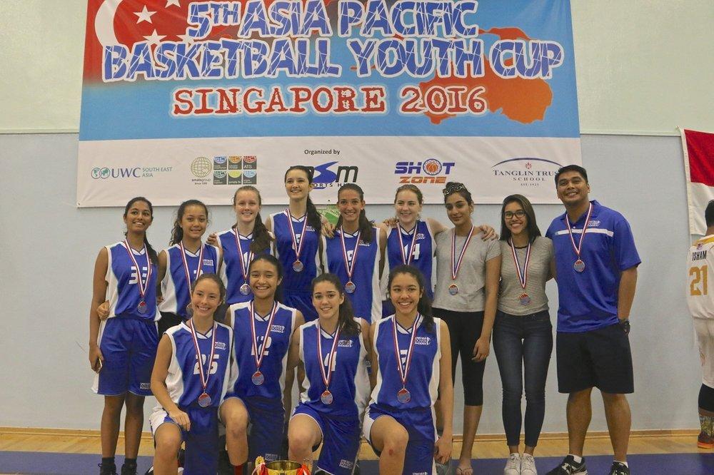 U18 Girls Champions - UWC Dover Singapore
