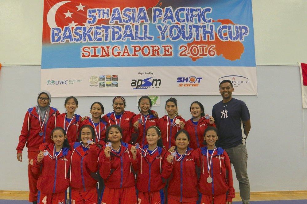 U18 Girls 2nd Place - Indonesia Muda