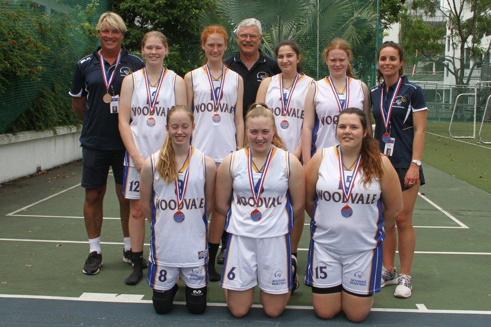 U18 Girls 4th Place - Woodvale Perth