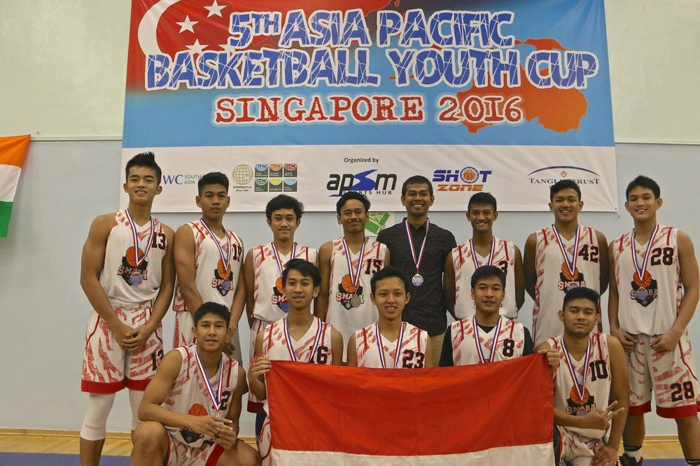 U18 Boys 2nd Place - Kharisma Bangsa Jakarta