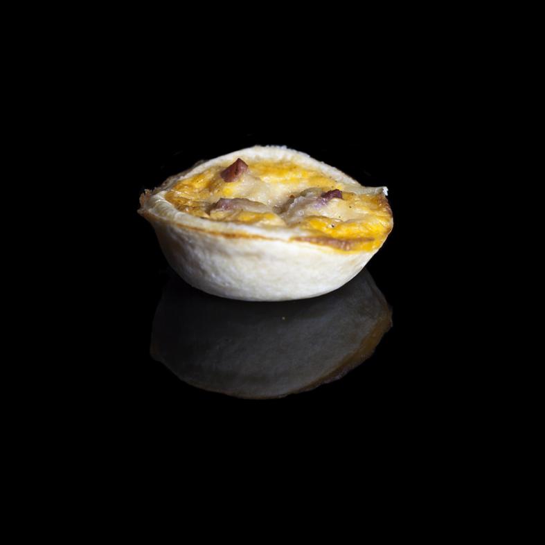 Copy of Mini Quiche Lorraine (Ham & Cheese)
