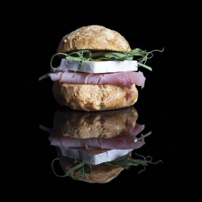 Copy of Ham & Brie Gougere (Choux Pastery Case)