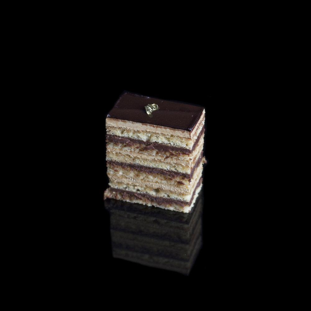 Copy of Opera Cake (Chocolate & Coffee)