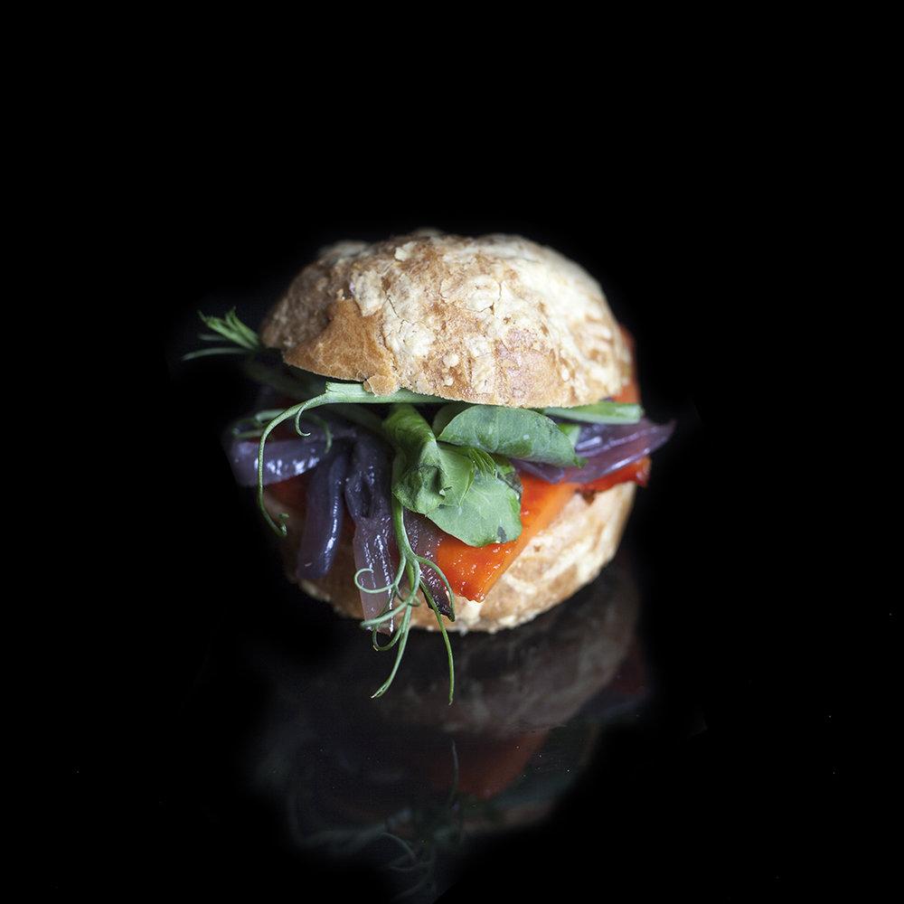 Copy of Roast Vegetable Gougere (V)