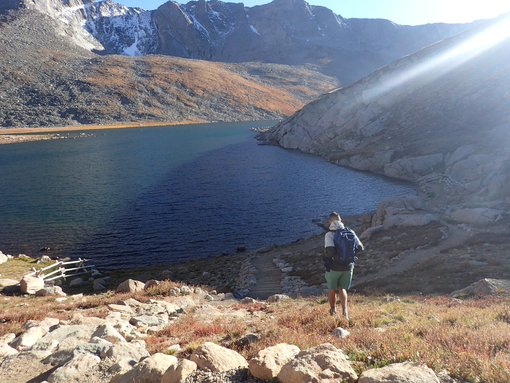 Hiking My First Fourteener in Colorado -