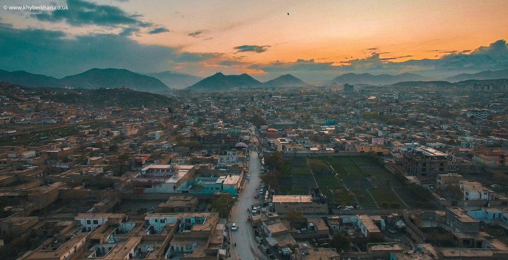 Qalae Zaman Khan, Kabul