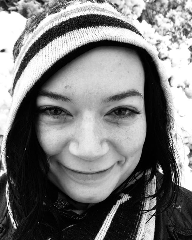First time I can remember having fun on a snow day instead of dreading getting called into work to bus tables. #cheekbones #snowday #seattlesnowpocalypse