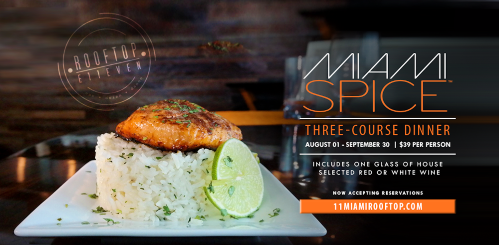 MIAMI SPICE: SUMMER'S END BRINGS ALL NEW FLAVORS