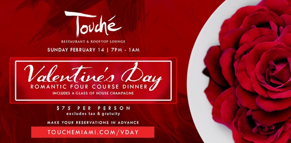 ROMANTIC FOUR COURSE VALENTINE'S DAY DINNER