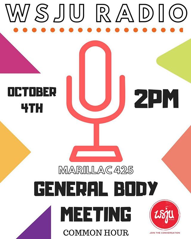 🔸🗣GENERAL BODY MEETING🗣🔸 . . This Thursday at 2 pm❕Come out && learn how to become a member 🎙🎙