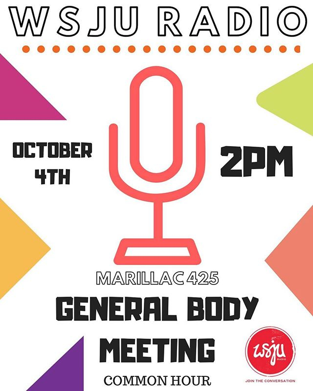 🚨GBM TOMORROW 2PM Rm 425🚨  Come thru and learn all there is to know about the station and how to become a member! 🗣  Tomorrow❗️Tomorrow❗️Tomorrow❗️