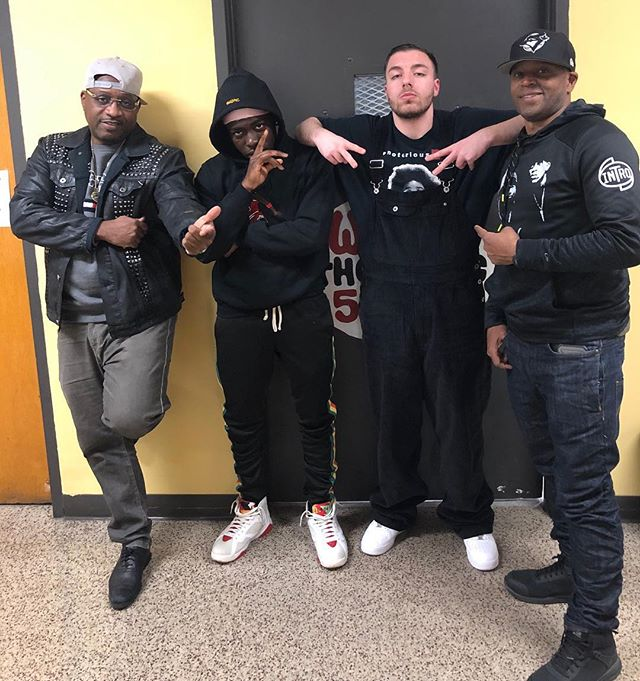 We would like to thank legendary R&B group INTRO for stopping by Monday night on Sports and Hip Hop with DJ Mad Max! @jeffsandersnyc @buddywike @realintro To listen to the interview: https://sportsandhiphopwithdjmadmax.podbean.com/e/intro-jeffrey-sanders-and-buddy-wike-on-sports-and-hip-hop-with-dj-mad-max-featuring-loko-warbucks/. To watch: https://m.youtube.com/watch?v=D004Y49KTec.