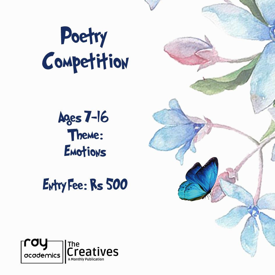 """Calling all Young Poets! - """"Poetry is the spontaneous overflow of powerful feelings: it takes its origin from emotion recollected in tranquility.""""-William Wordsworth"""