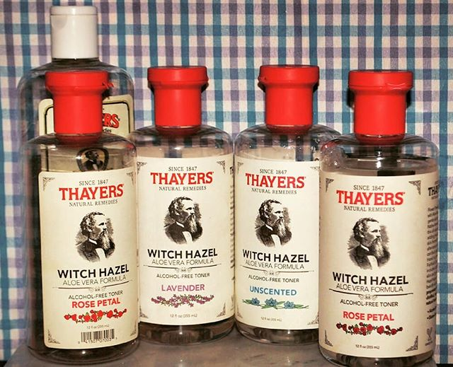 a quick love letter to @thayersnatural, and how much my partner and I enjoy this multi-purpose toner.  it has two purposes, really - firstly, toner. look, I don't know if it does anything, but my partner loves the unscented (alcohol-free!) version for post straight-razor shave toning (he decants it into a spray bottle!), and I just really enjoy the rose one as a better alternative to Lush's rose toner.  the cucumber one is okay if you're SUPER INTO CUCUMBER SCENTS, and the lavender one is best off for its other purpose as a micellar water/pre-cleanser. 10/10, would repurchase many, many times over.  who else love multi-purpose products?