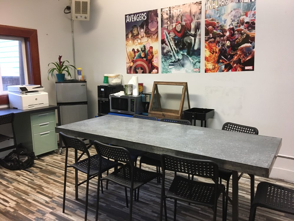 Backroom for Gaming, Book Clubs and Organizing!