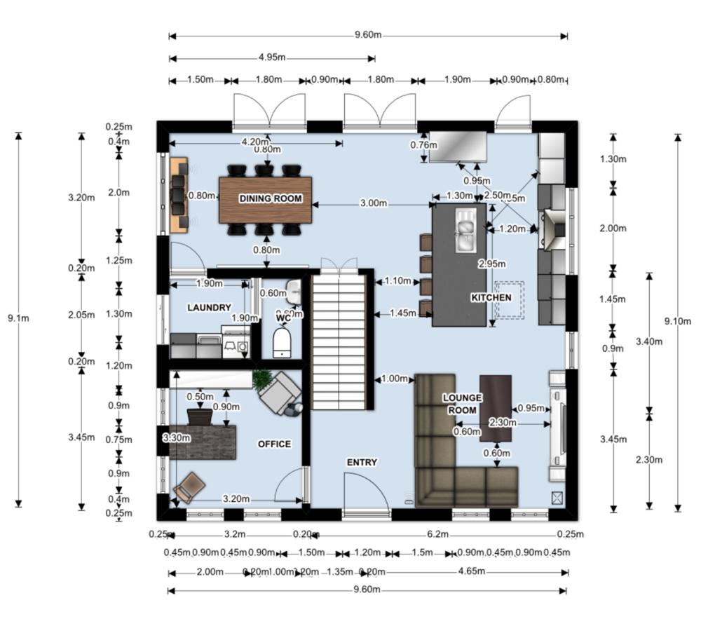 Floorplan by #IDIstudent Vanessa Walker