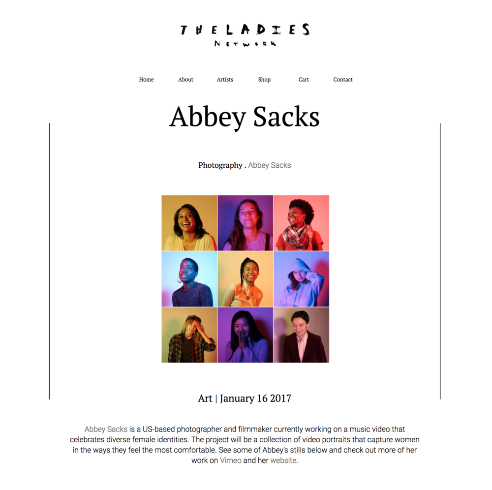 theladiesnetwork.com.au/take-a-sneak-peek-of-us-based-filmmaker-and-photographer-abbey-sacks-latest-project/