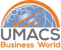 umacs business world logo