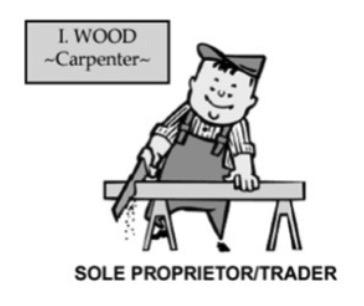 Sole proprietor, sole trader legal structure