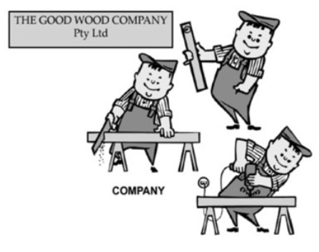 Company or corporation legal structure