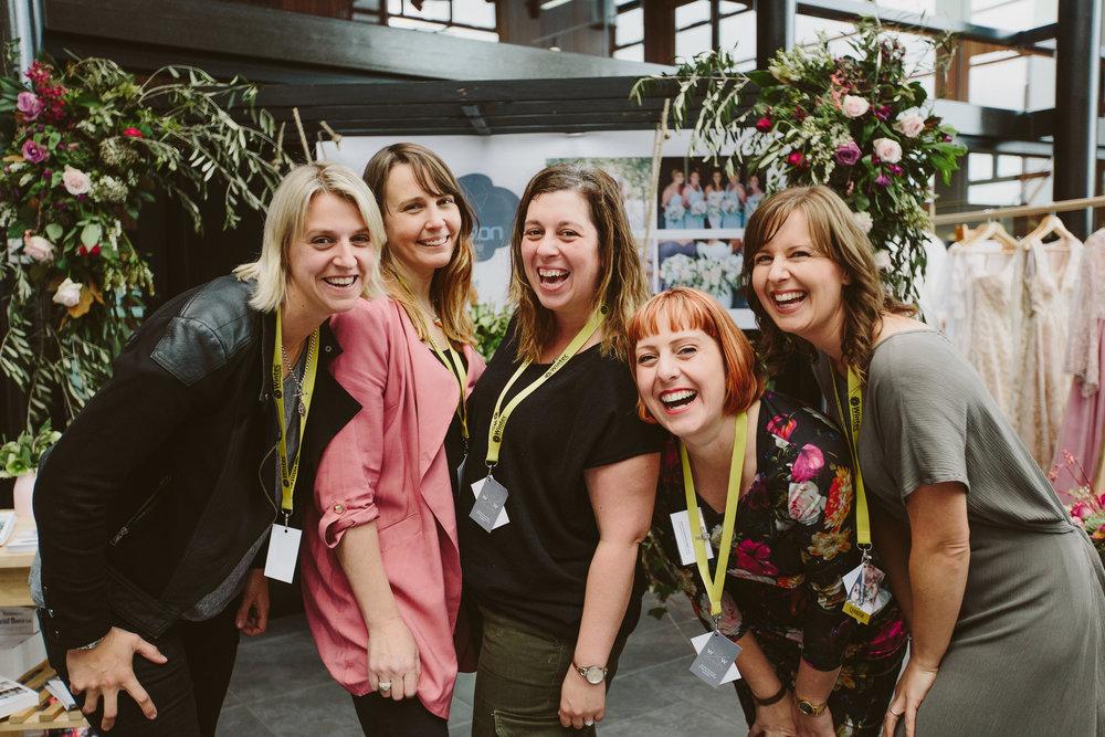 The 2017 team: Sarah Glenn, Emma Whitlock, Hannah Porter, Brooke Baker,Abbie Hartland