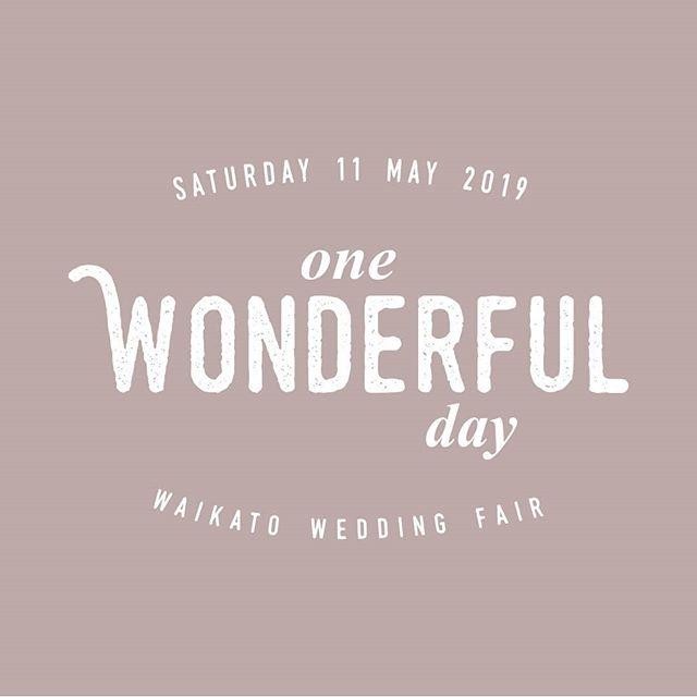 Save the date Waikato lovers! Saturday 11 May, 2019 💛 The Atrium, Hamilton www.onewonderfulday.co.nz • • • • • #onewonderfulday #waikatoweddingfair #weddingfair #weddingexpo #nzweddings #newzealandweddings #waikatowedding #waikatoweddings #loveislove #wedding #bride #groom #bridetobe #nzbride #weddingplanning