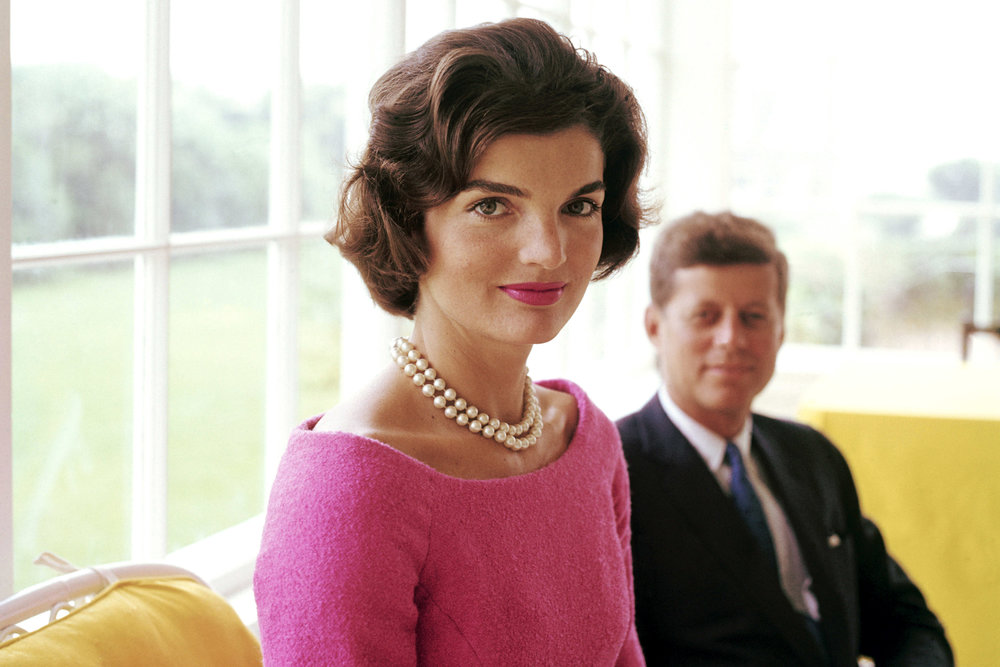 Jackie and John F Kennedy at Hyannis Port 1959.Photo: Unknown