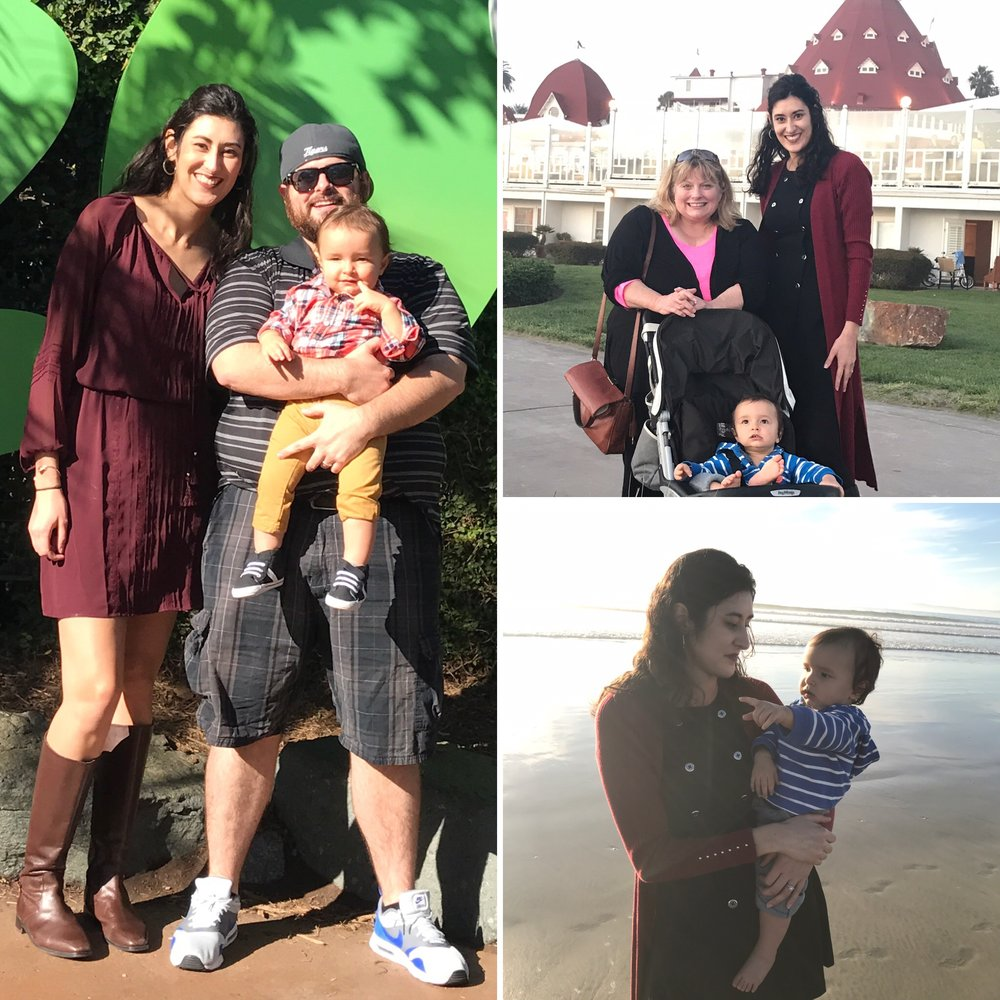 Vacation highlights from my recent trip to San Diego with my sweet family (featuring my two favorite outfits of the trip, of course)!