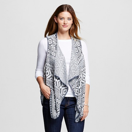 Knox Rose Patterned Layering Vest