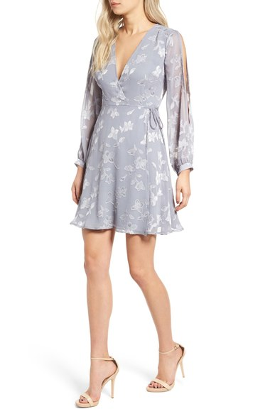 ASTR dusty blue wrap dress.jpg