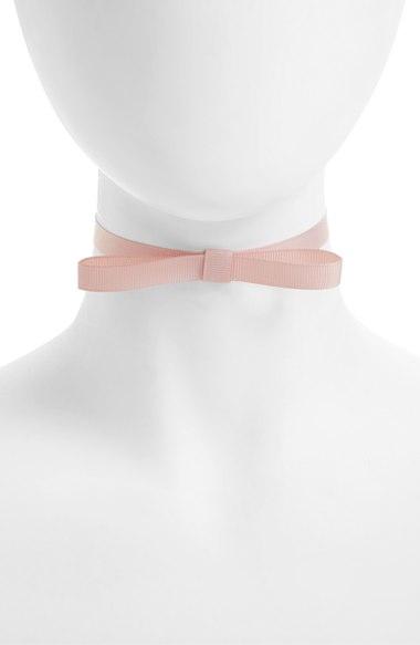 Topshop Bow Ribbon Choker