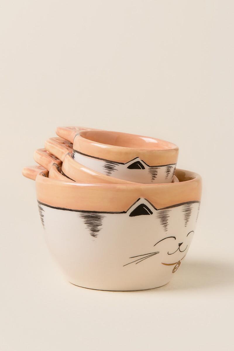 Francesca's Cat Measuring Cups