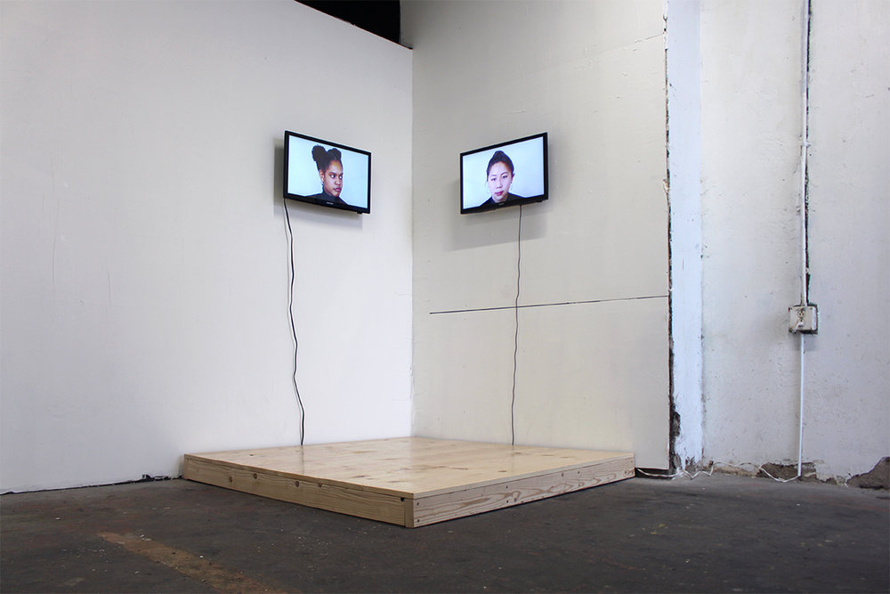 10:00 min. two-channel video installation