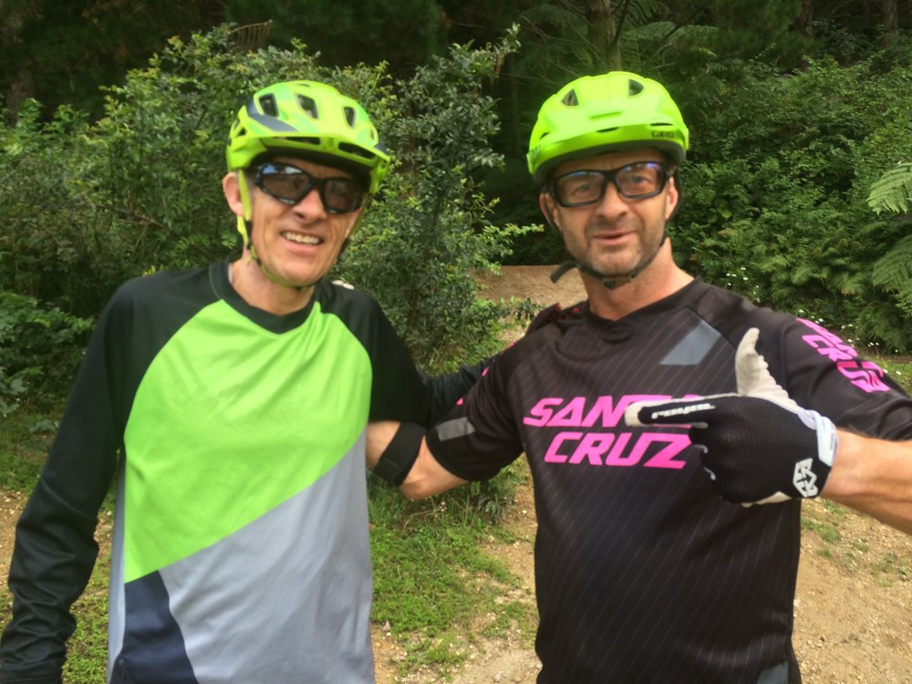 """Look, it's someone older than me""  Ned Overend finally gets to meet therodfather"