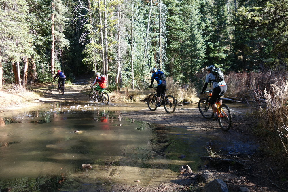 Canyon Creek is a proper adventure ride. It has it all.