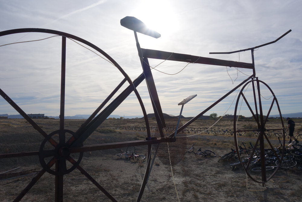 Bike sculptures, Fruita, US of A.